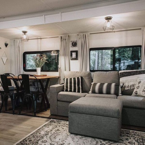 10 Creative Camper Remodel Ideas -  If you are planning to give a new look for your motorhome, camp