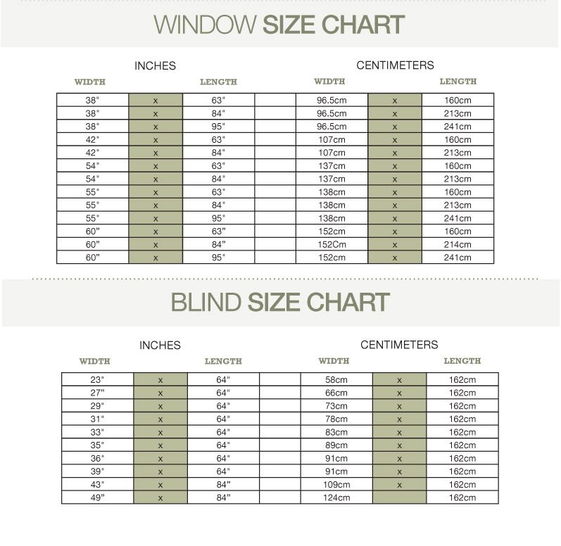 BrylaneHome Window Measuring Guide | Measuring curtains, Curtains, Window  sizes chart