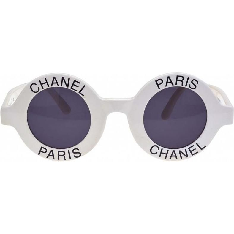 Chanel Vintage Round Sunglasses as seen on Ariana Grande | As Seen ...