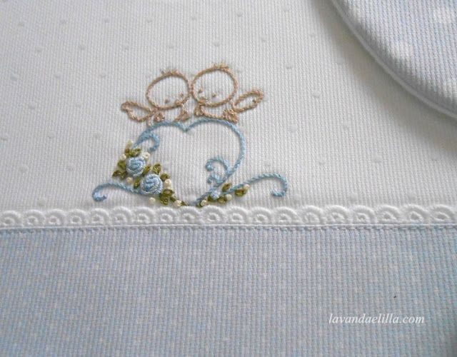 Lavanda e Lillà: bavaglini | bambini | Pinterest | Bordado, Lavanda ...