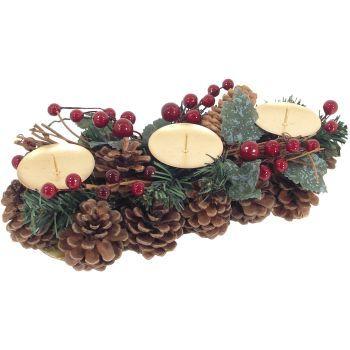 trioart.sk | Svietnik vianočný×3 (Výpredaj – vianoce (až – 75%), Svietniky + dekorácia ( – 50%))