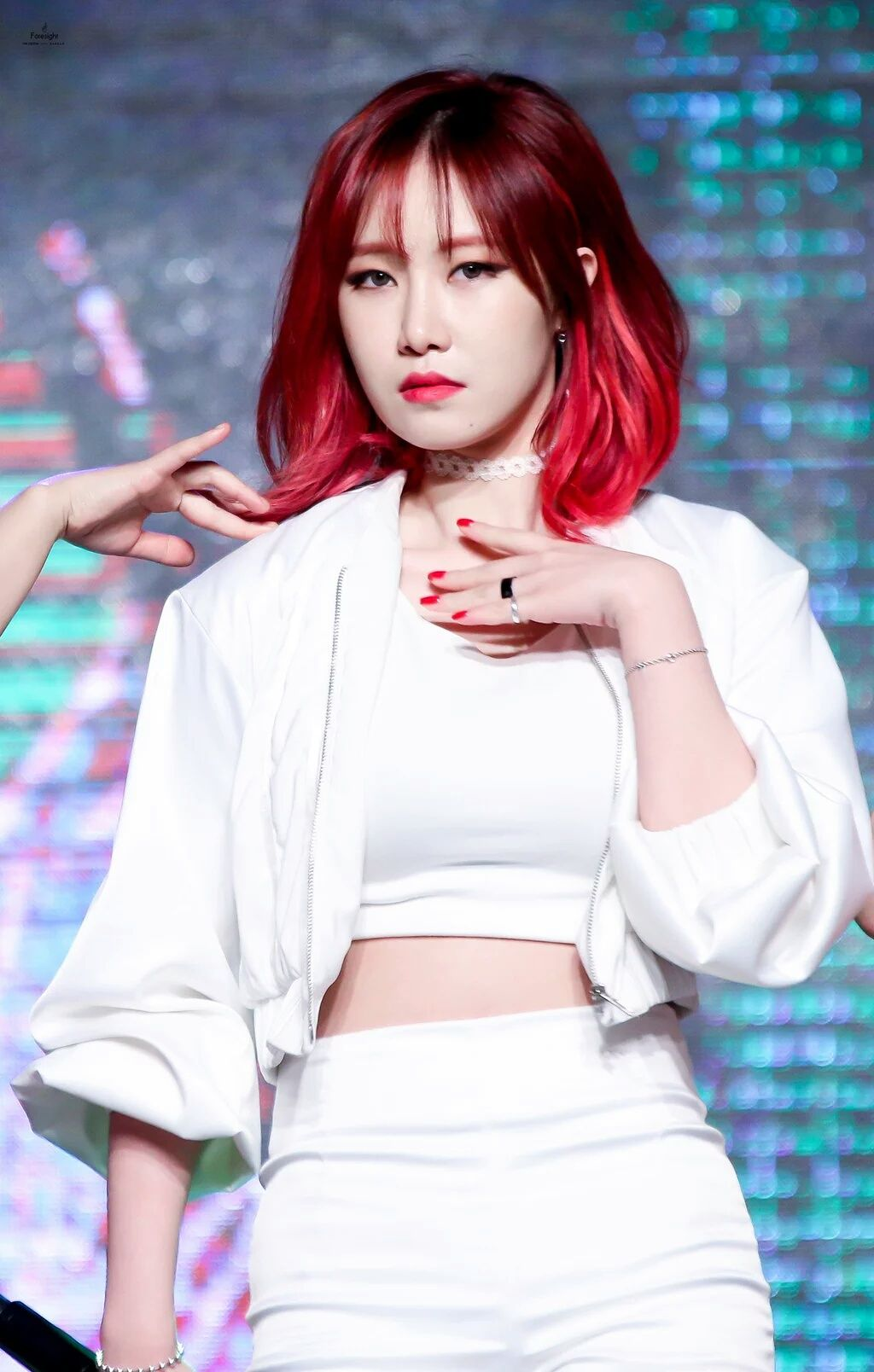Hey Ladies Photo Kpop Hair Kpop Girls Red Hair
