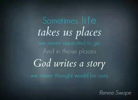 write a true life story