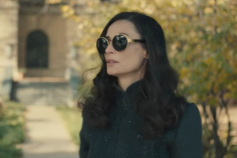 Oversized Round Sunglasses Demi Moore In Blind 2017 In 2020