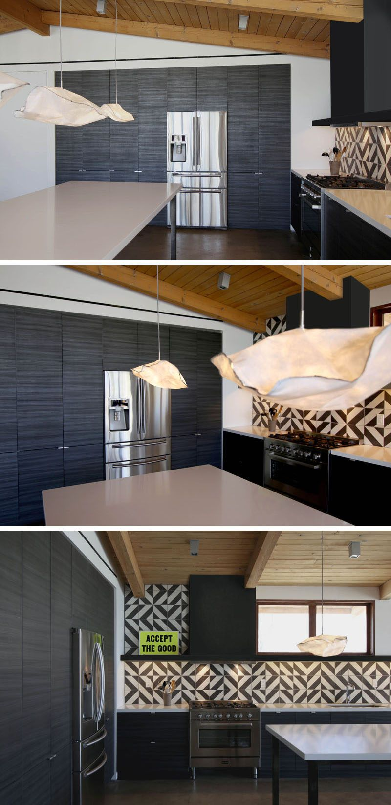 This Renovated Mid-Century Modern Ranch House Is Surrounded By ...