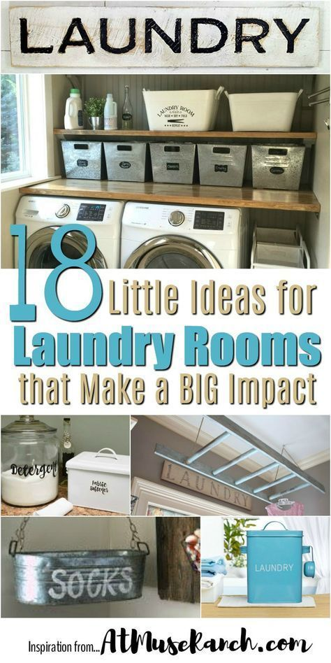 Little Ideas for Laundry Rooms that Make a Big Impact
