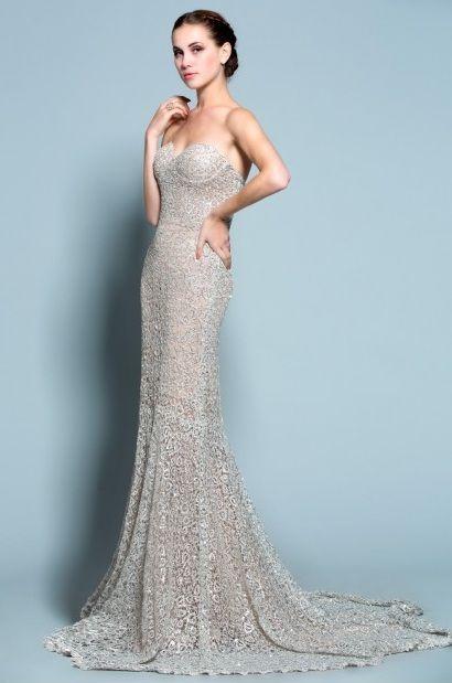 Beaded Lace Evening Dresses - Darius Cordell Fashion Ltd | Pageants ...