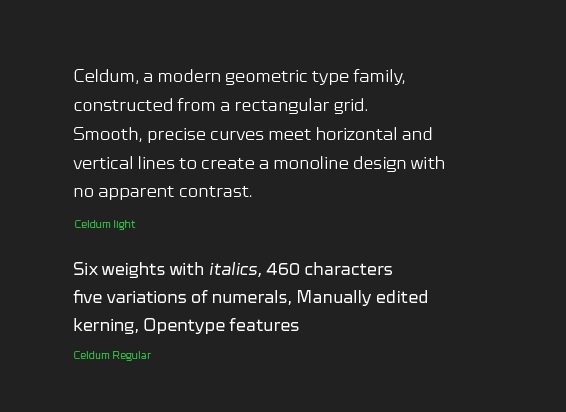 Celdum - The Northern Block