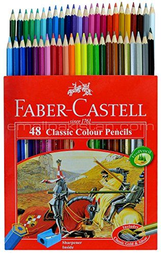 Faber Castell Premium Color Pencils 48 Colored Pencils Faber