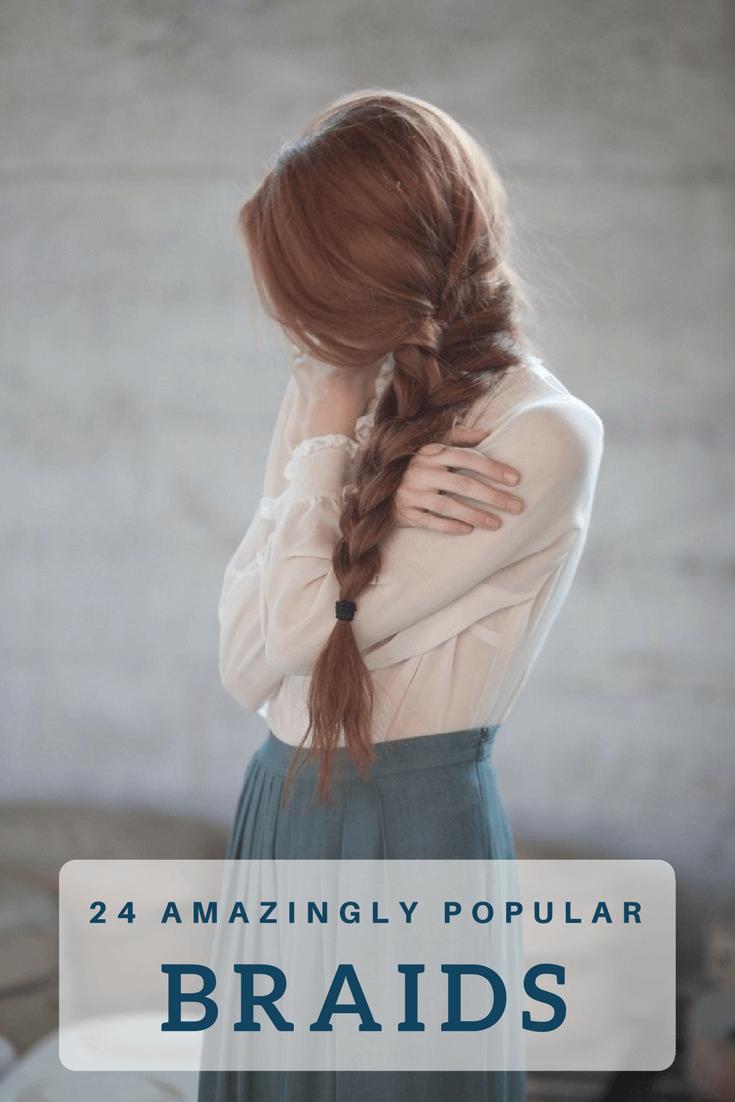 insanely popular braids for long hair boxer braids fishtail