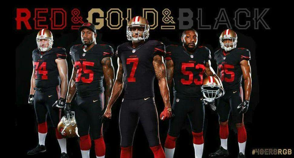 size 40 ea0e4 ab834 NewUniform #49ersRGB ❤♥ | I Bleed Red N Gold ♥♥ | 32 nfl ...