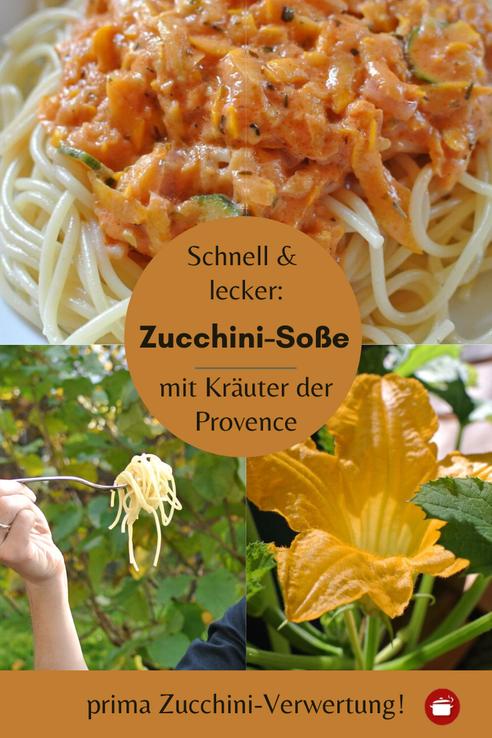 Photo of Nudeln mit Zucchini-Soße