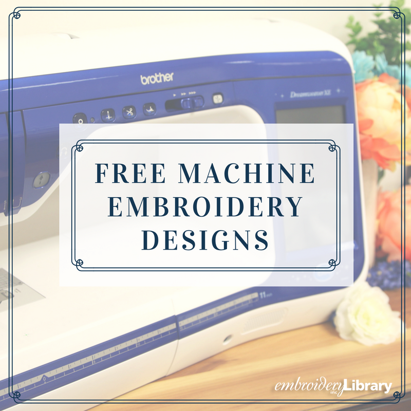Find Free Machine Embroidery Designs Monthly From Emblibrary