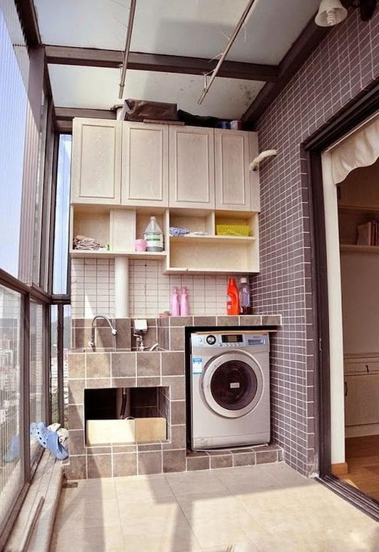 50 Modern Minimalist Laundry Room Ideas For Small Space Laundryroom Laundryroomdecor Laundryroomideas Dekorasi Apartemen Kecil Dekorasi Rumah Rumah