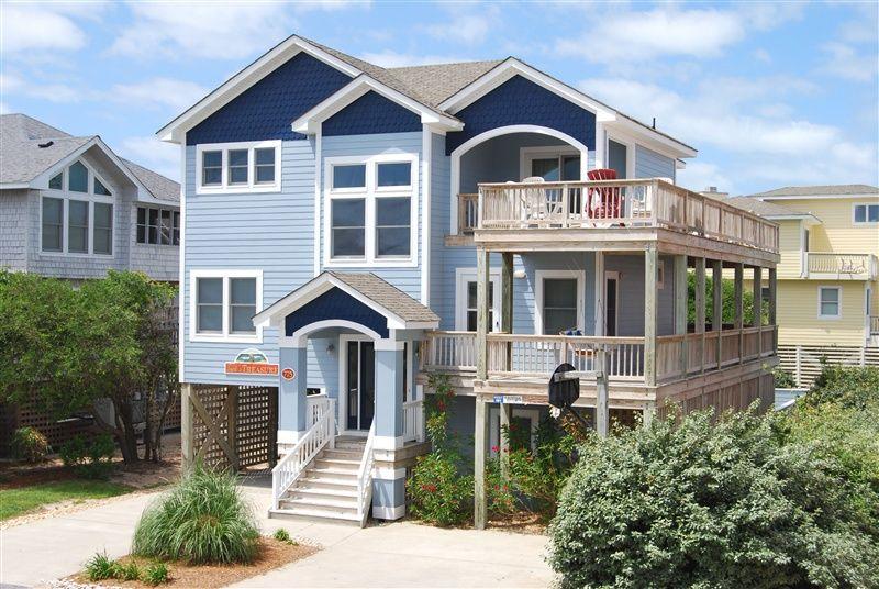 Carolina Designs TUCK'S TREASURE Sunday to Sunday $4900 + tax = $5600 5 bedrooms 73 yards from beach