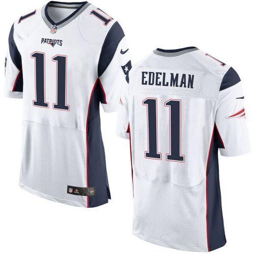 Nike Patriots #11 Julian Edelman White Men's Stitched NFL New Elite  for cheap
