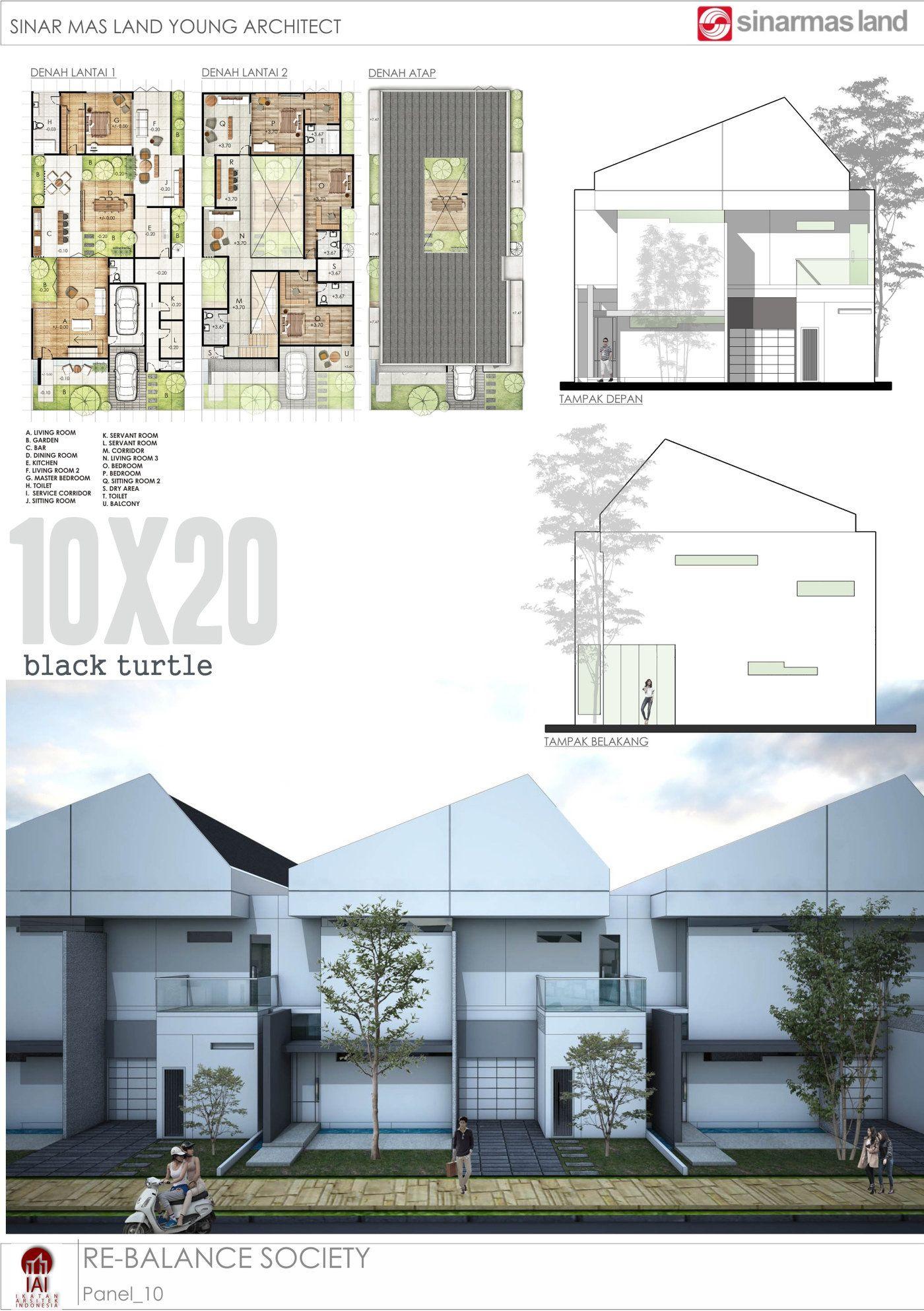 Thaza Georly X Santoso Adria For Sinarmas Young Architect