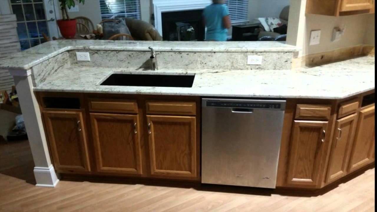 Bad Kuche Renovieren Ideen Mit Schrank Und Spulmaschine Auch Colonial Creme Granit Unterbau Waschbecken Armaturen Spannend Fur Raum E Home Decor Kitchen Decor