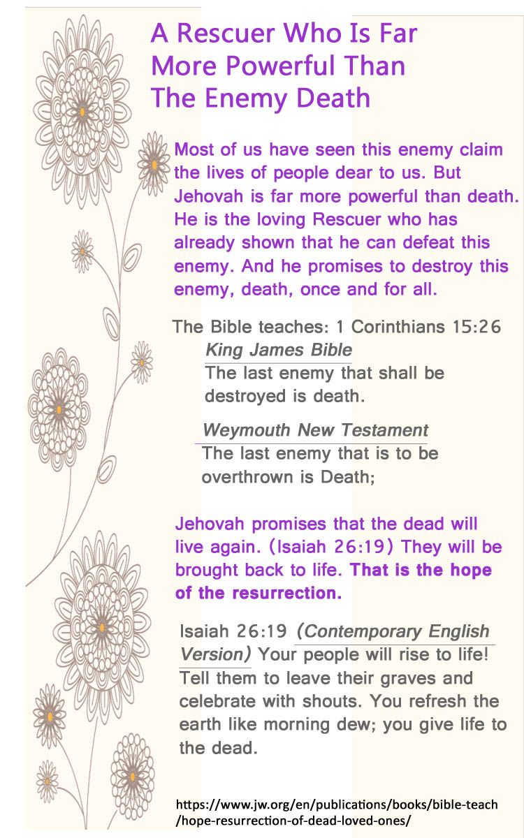 The Resurrection: Real Hope for Your Dead Loved Ones