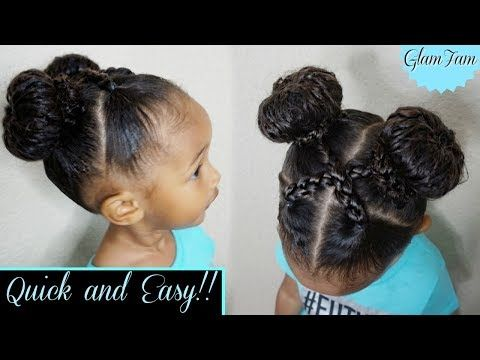 Learning To Care For Your Child S Natural Hair Takes Alot Of Time And Patience Here Are 10 Youtu In 2020 Childrens Hairstyles Easy Hairstyles For Kids Kids Hairstyles