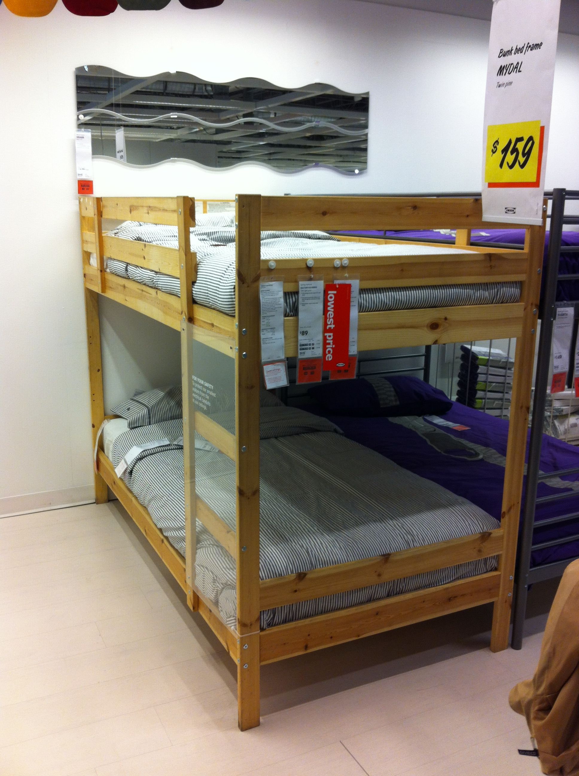 Camo loft bed with slide  Ikea bunk beds can be finished in any color red  For the Home