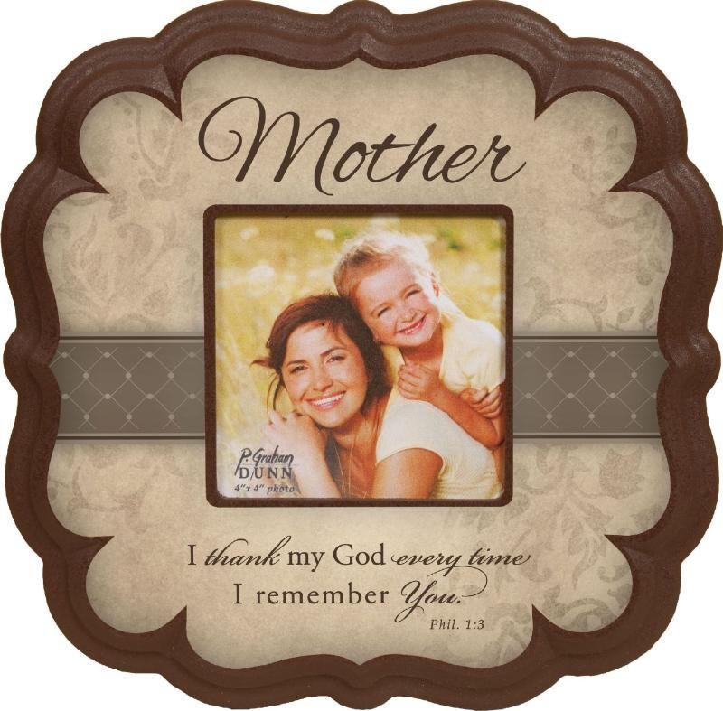 MOTHER PHOTO FRAME $23.00   Christian Photo Frames & Albums   Pinterest