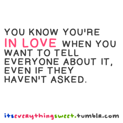 How To Know That You Re In Love