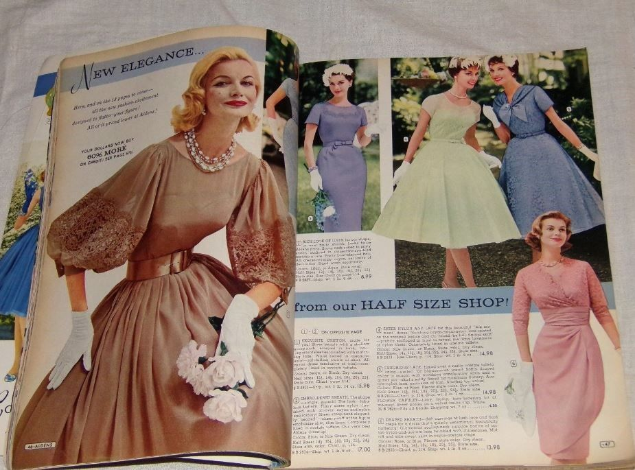 37441f8a43c 1960 Alden s spring summer catalog