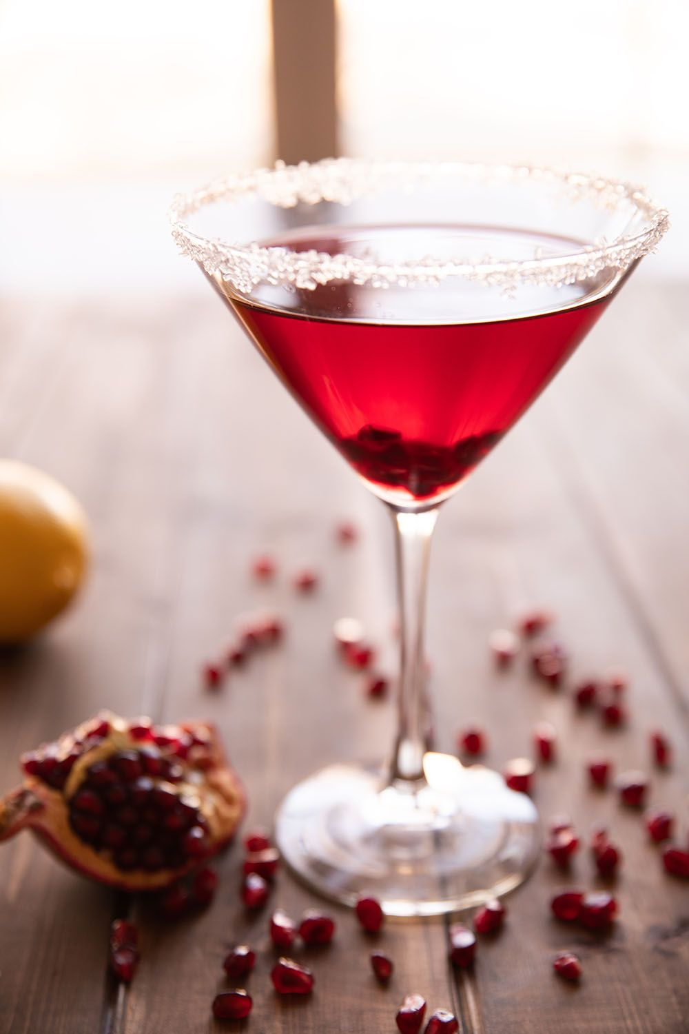 The Perfect Pomegranate Martini - Mirlandra's Kitchen