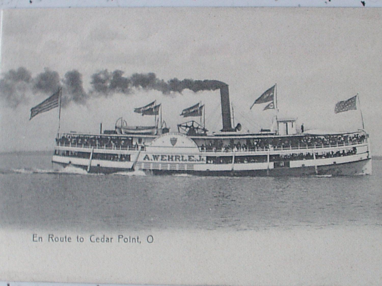 Antique Cedar Point postcard C. W. Platt Germany by ShoponSherman, $9.00