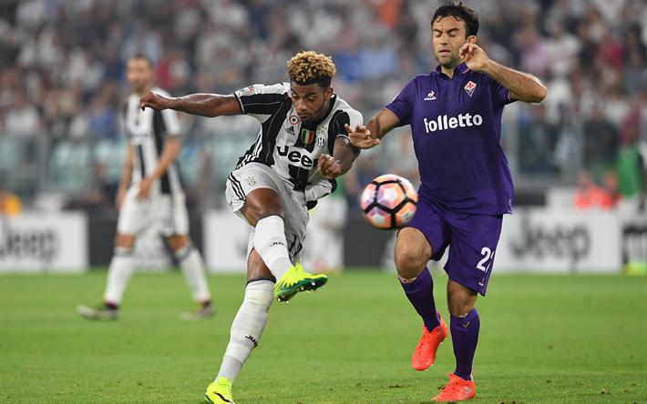 Lataa kuva Juventus, Mario Lemina, Seria A, jalkapalloilijat, Giuseppe Rossi, Florentine