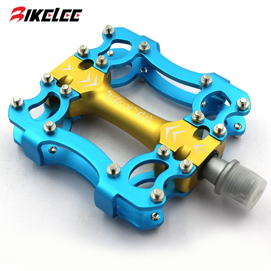 2017 Hot New Design Colored Mtb Road Bicycle Pedal Aluminum Alloy Pictures Bicycles Parts Picture Pedals Platform Bike Cycling Accessories