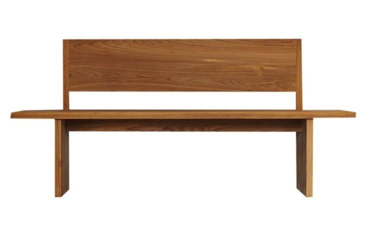 10 Easy Pieces Modern Wooden Benches With Backs Wood Bench