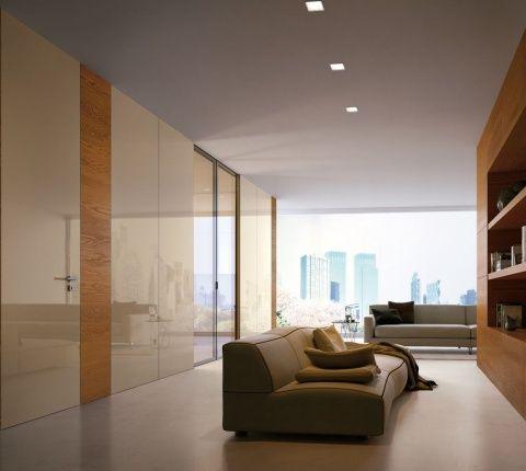 美しい光沢のイタリア製建具 室内ドア リビングドア イタリア製ドア