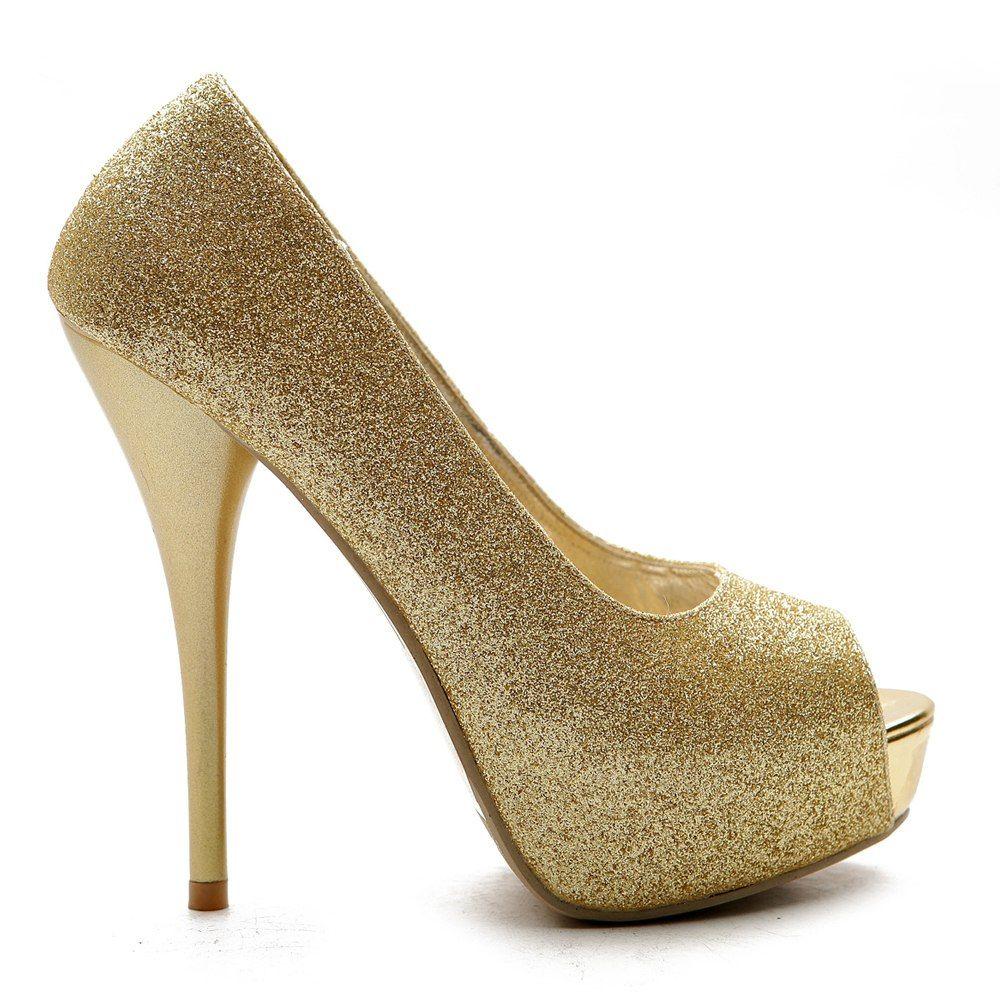 zapatos dorados de fiesta - Buscar con Google  074269717c19