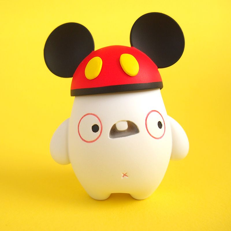 """""""Oswald, the Mickey Mouse Maniac"""" resin figure from Dolly Oblong"""