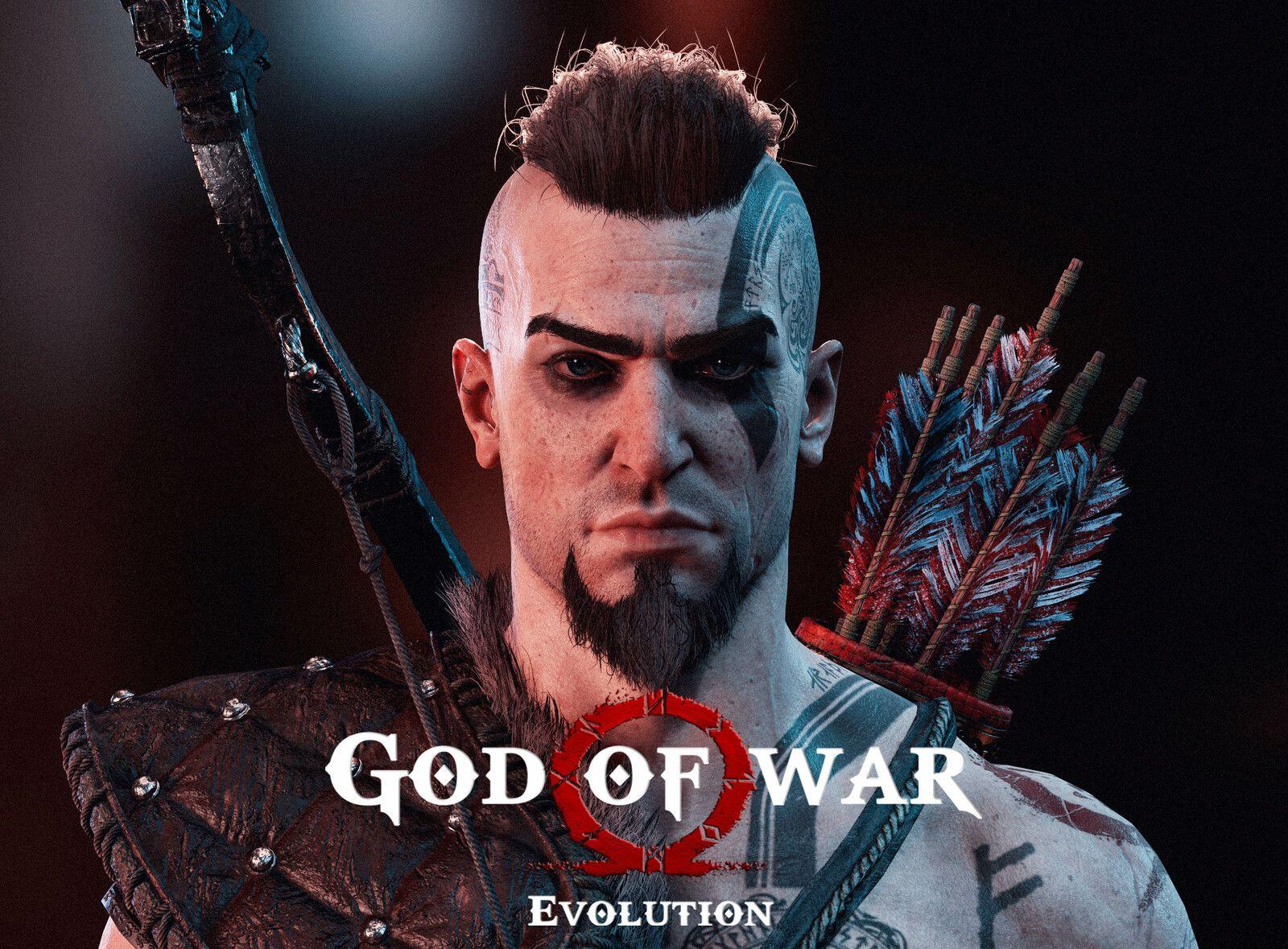 God Of War Evolution Atreus Fanart Andre Sik On Artstation At Https Www Artstation Com Artwork 0x1ezv God Of War Atreus Fanart Atreus God Of War