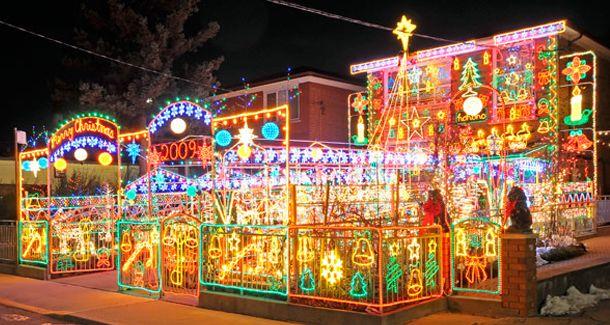 Amazing Christmas Lights Display Images Christmast Light