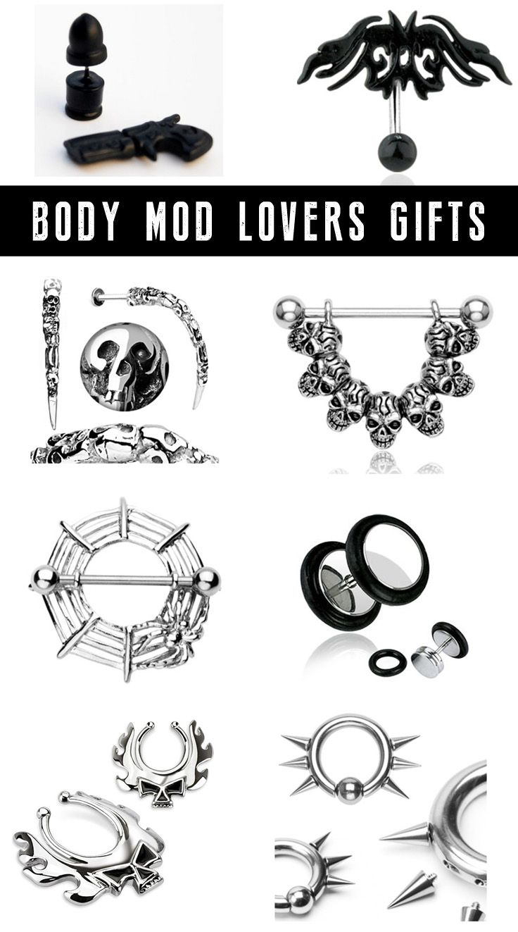 Shop Christmas gifts for piercing lovers at RebelsMarket.