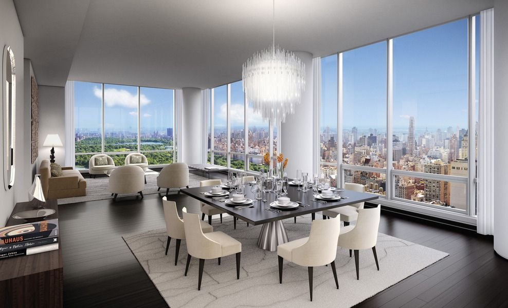 157 West 57th Street Nyc Luxury Real Estate Pent House