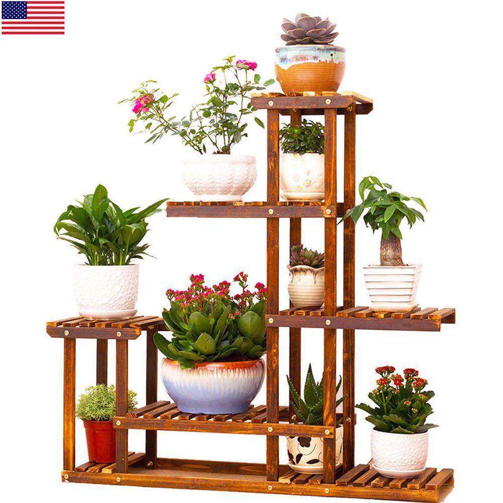 Plant Pot Stand For Garden