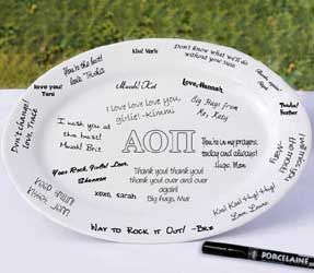 Personalized Greek Signature Platter
