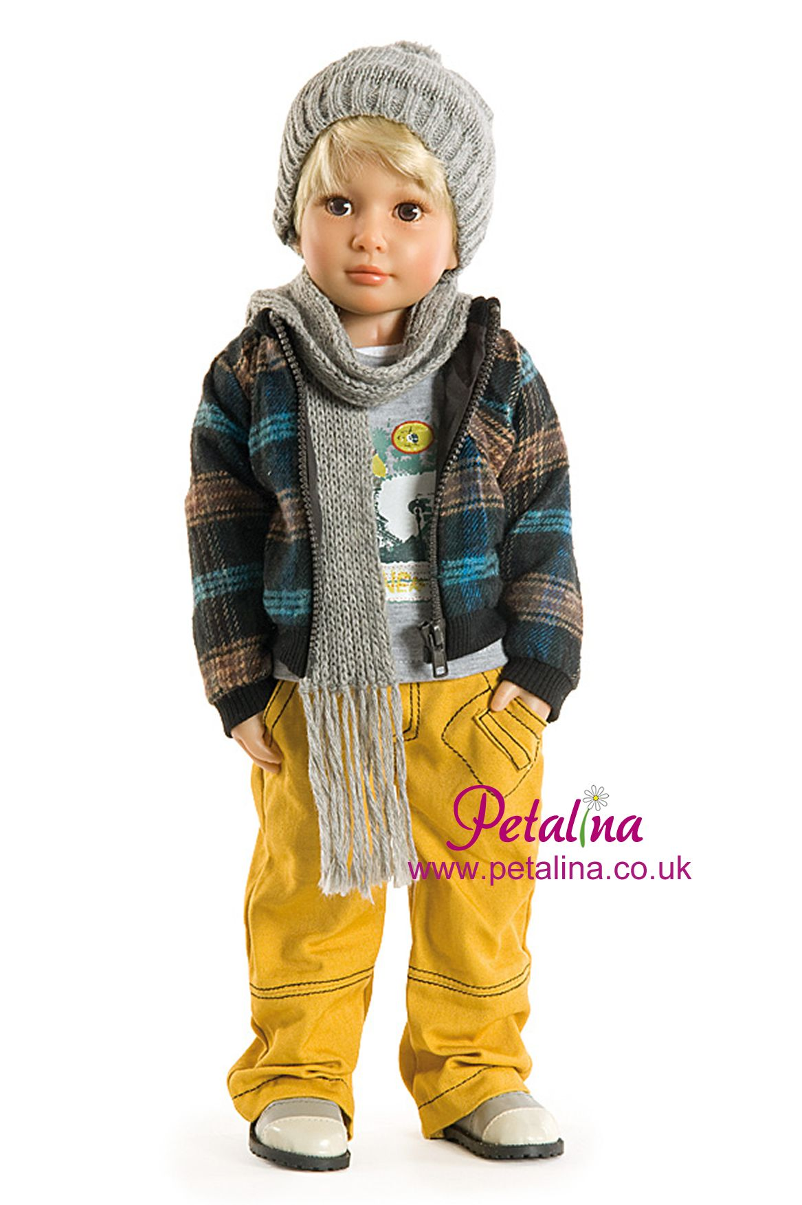 Jakob is from the very first collection of Kidz n Cats dolls and