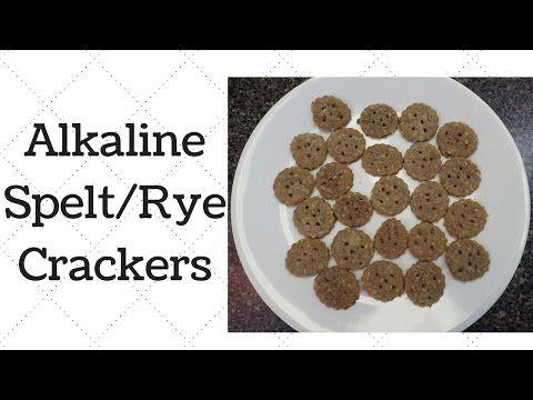 Alkaline Electric Spelt Rye Crackers Rye Crackers Alkaline
