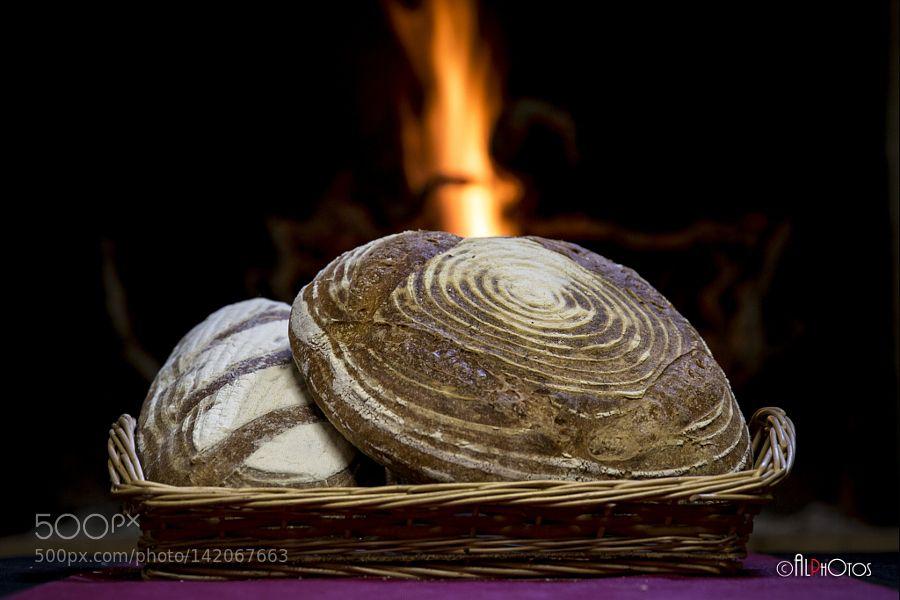 Pic: Rustic bread