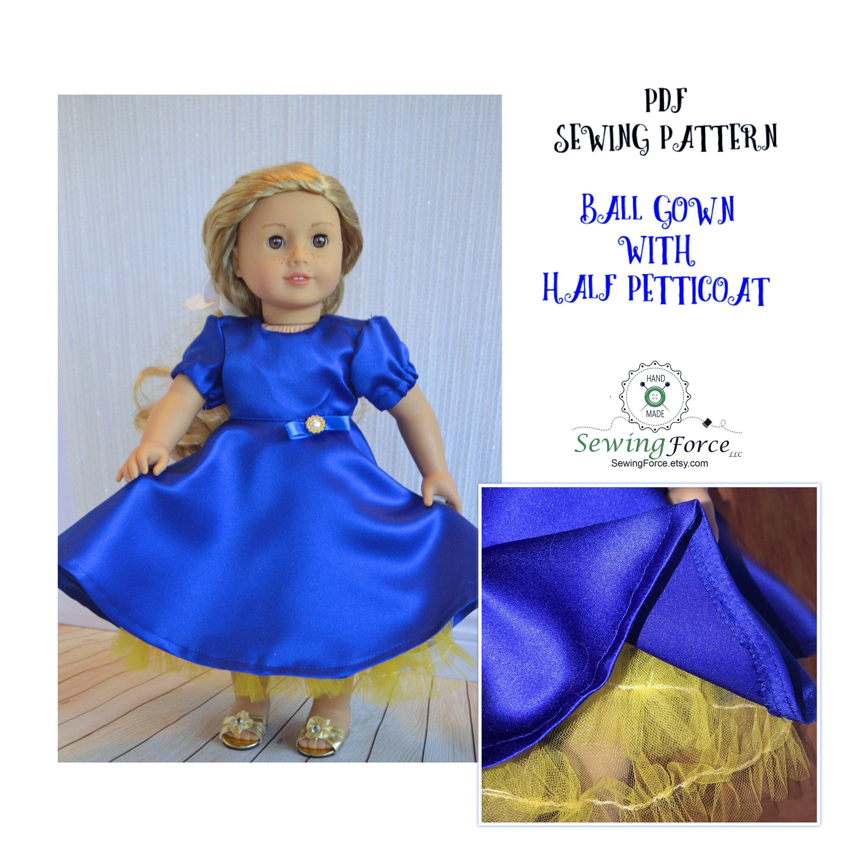 Vistoso Patrones De Costura Para Muñecas 18 Pulgadas Gratuitas ...