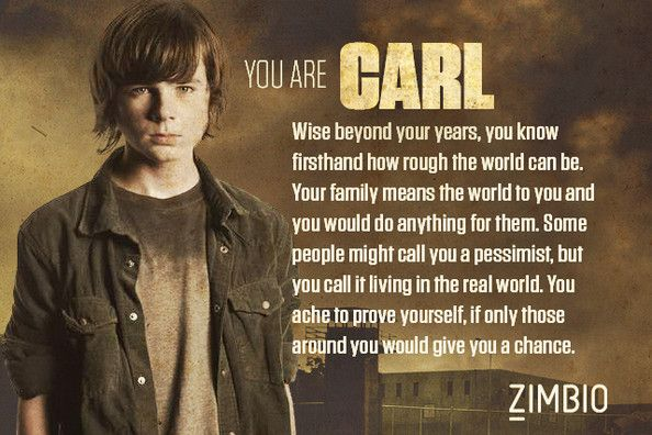 I got Carl. Comment of who you got