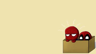 Baby Deadpool Wallpaper Art Spiderman Deadpool Comics
