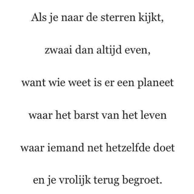 Als je naar de sterren kijkt, ... Sukha, Amsterdam