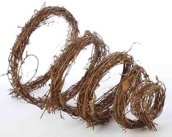 Natural Grapevine Twig Garland